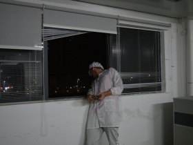 First Crazyflie 2.0 by the window