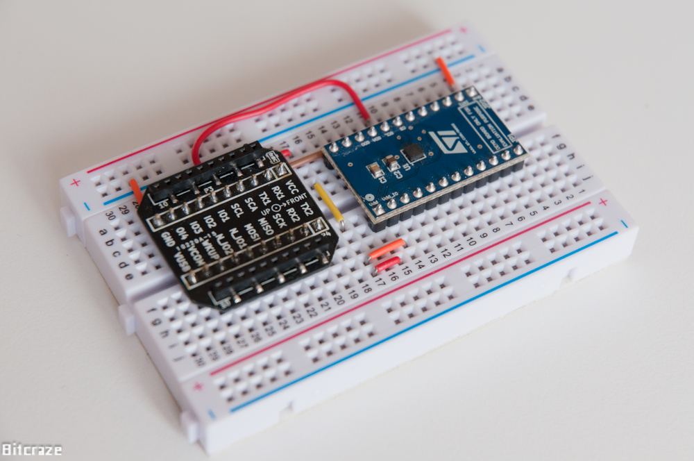 Crazyflie 2.0 breakout board expansion with ST sensor