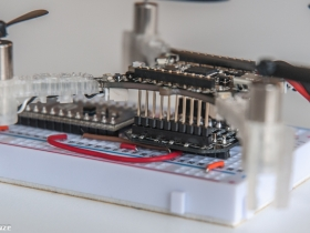 Crazyflie 2.0 breakout board expansion with longer expansion connectors