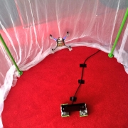 Autonomous flying with the Kinect