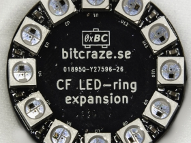 Crazyflie 2.0 LED-ring expansion prototype