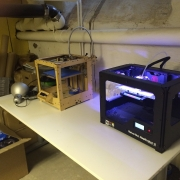 Our Ultimaker has a new friend