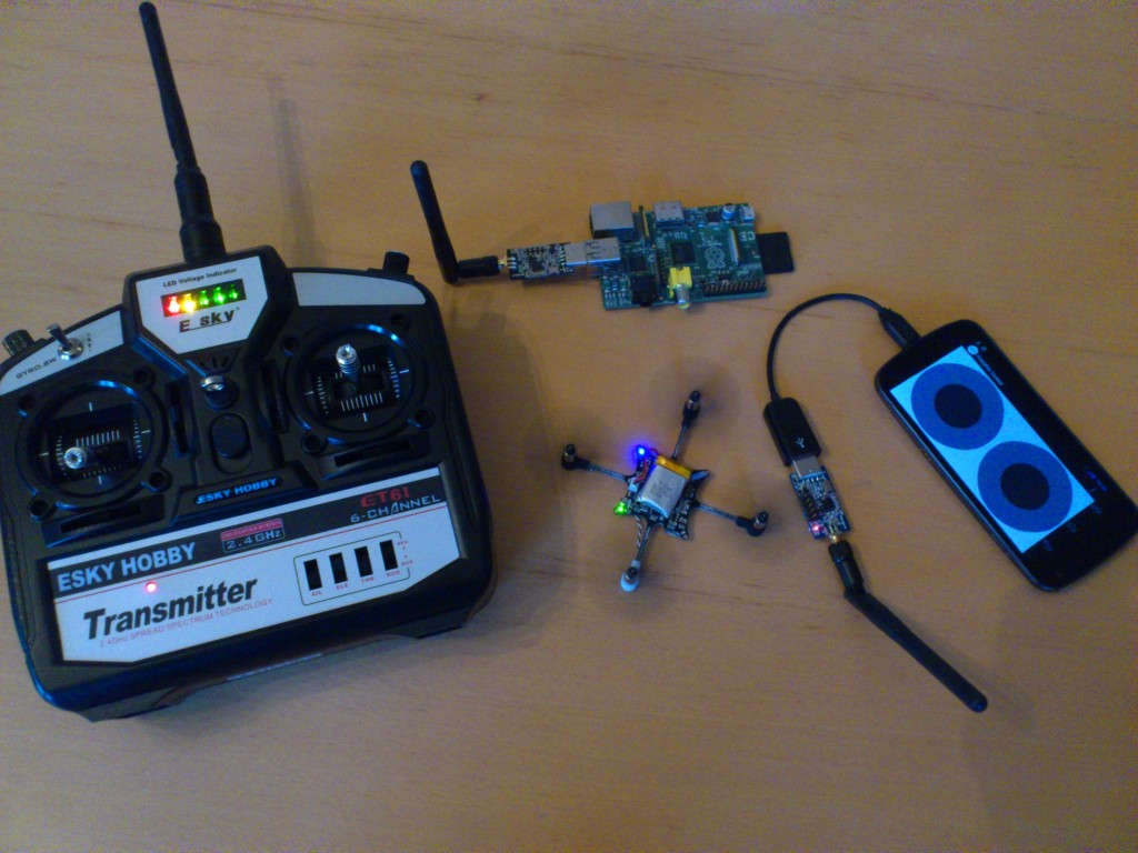 Crazyflie standalone controllers