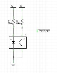 Optical switch circuit