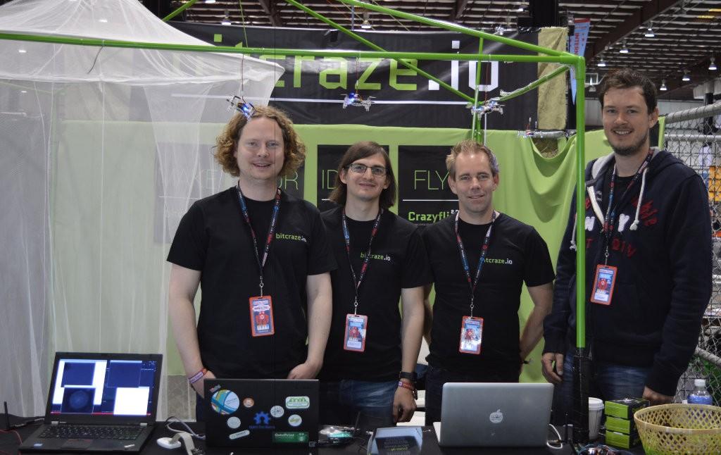 Bitcraze booth