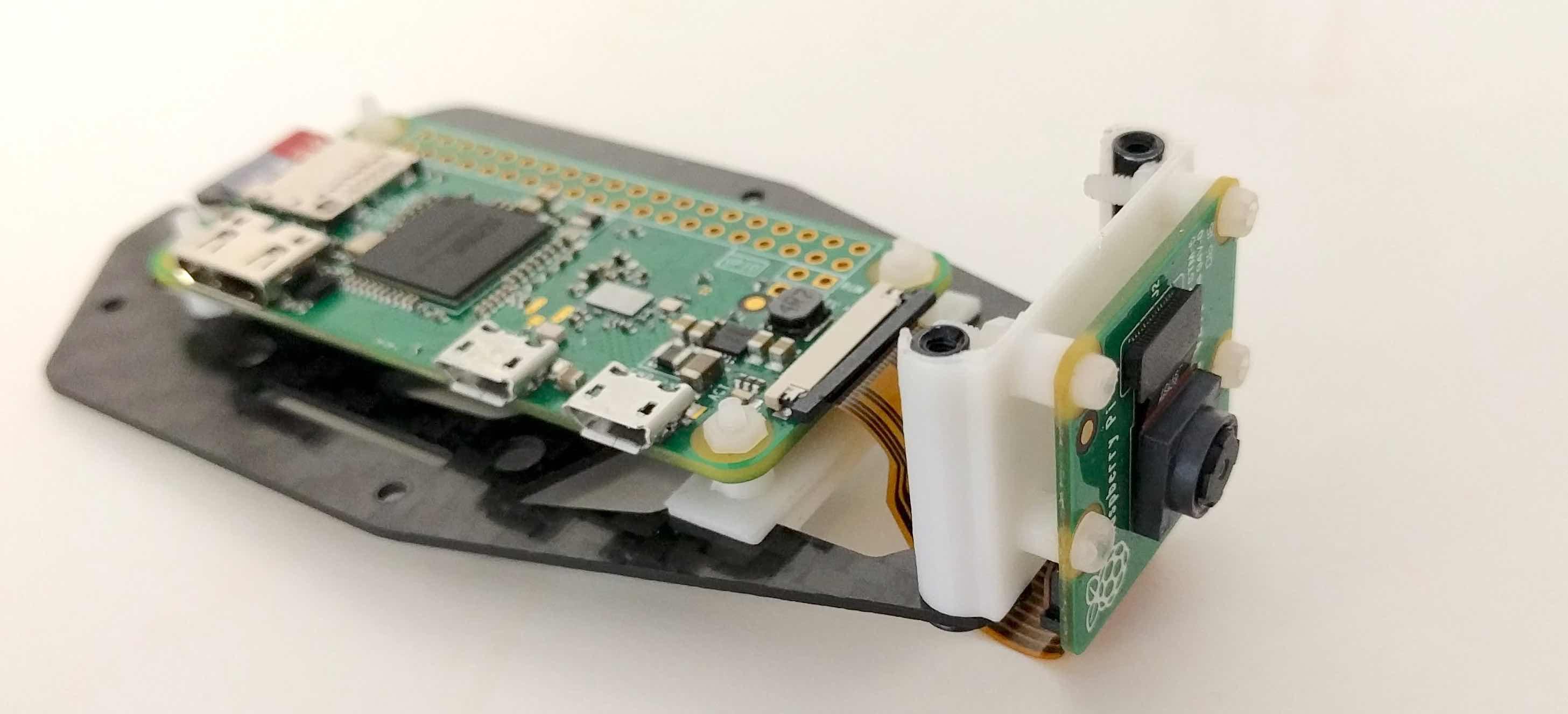 Crazyflie-based quadcopter with Raspberry pi camera | Bitcraze